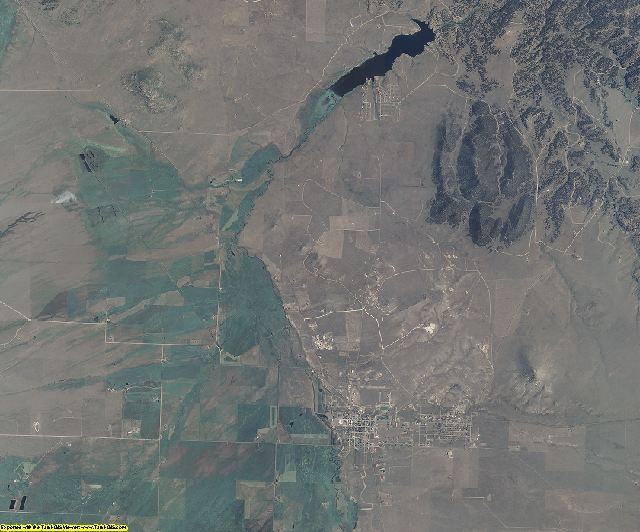 Custer County, Colorado aerial photography