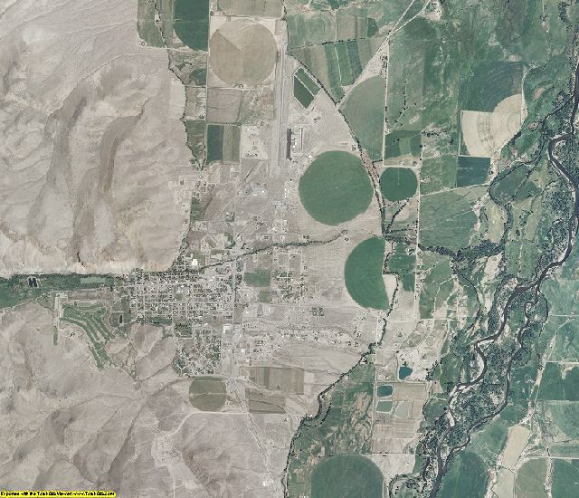 Custer County, Idaho aerial photography