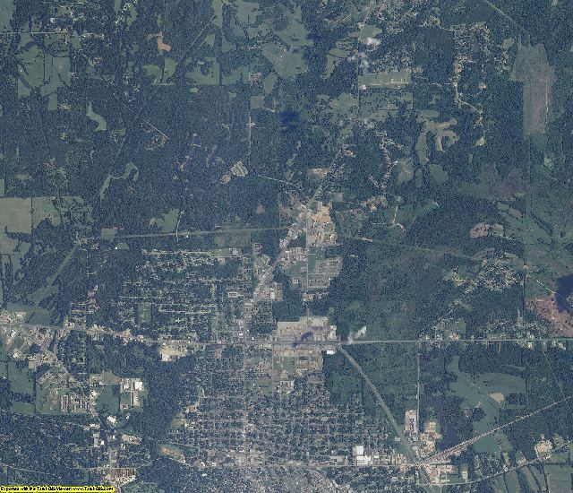 Dallas County, Alabama aerial photography