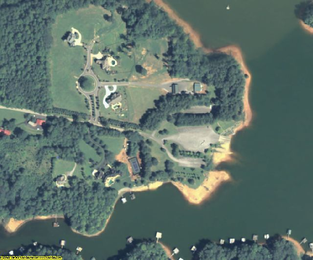 Dawson County, GA aerial photography detail