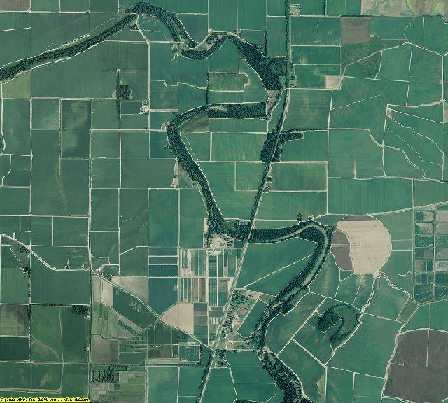 Desha County, Arkansas aerial photography
