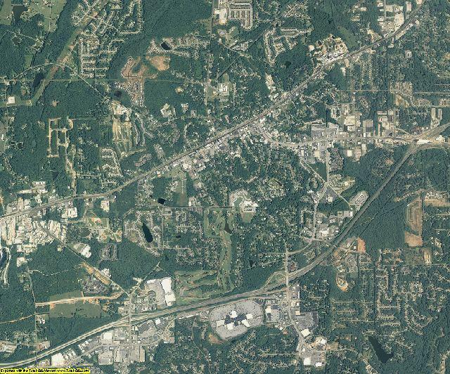 Douglas County, Georgia aerial photography