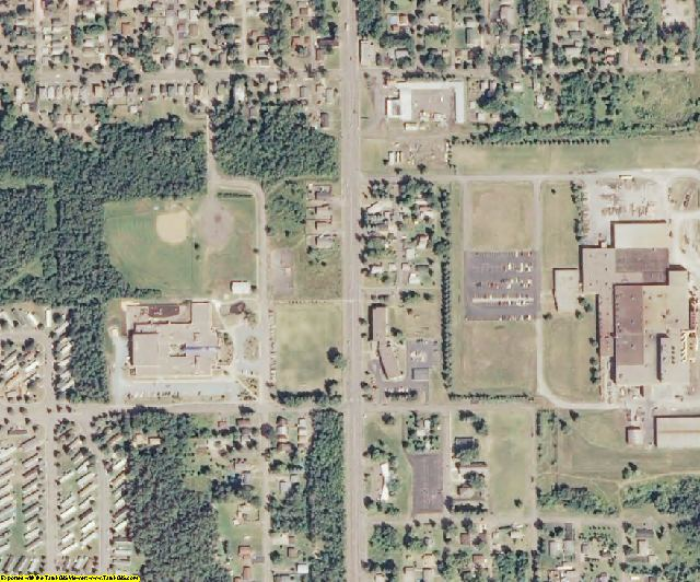 Douglas County, WI aerial photography detail