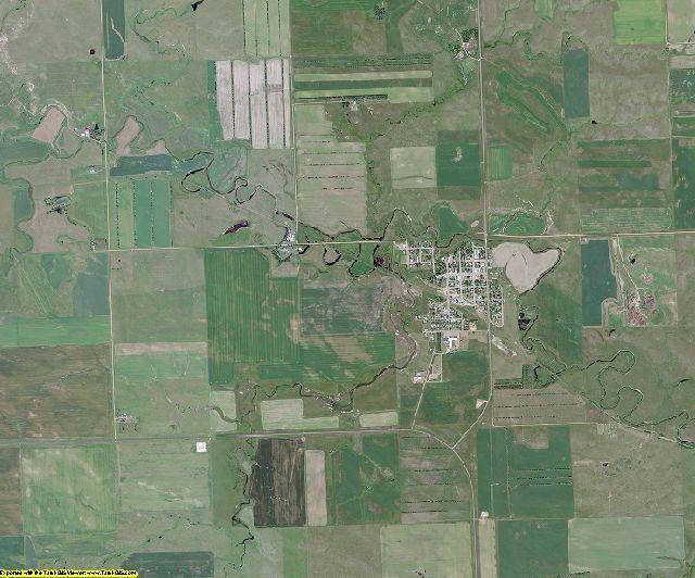 Dunn County, North Dakota aerial photography