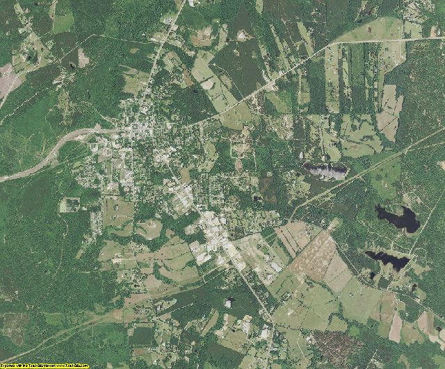 East Feliciana County, Louisiana aerial photography