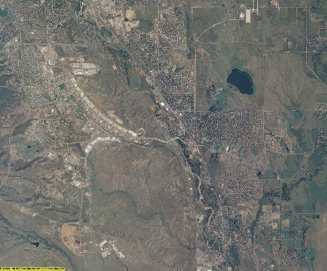 El Paso County, Colorado aerial photography