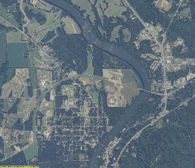 Elmore County, Alabama aerial photography