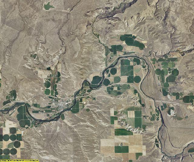 Elmore County, Idaho aerial photography