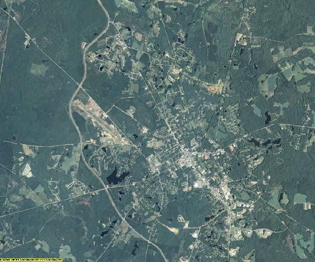 Emanuel County, Georgia aerial photography