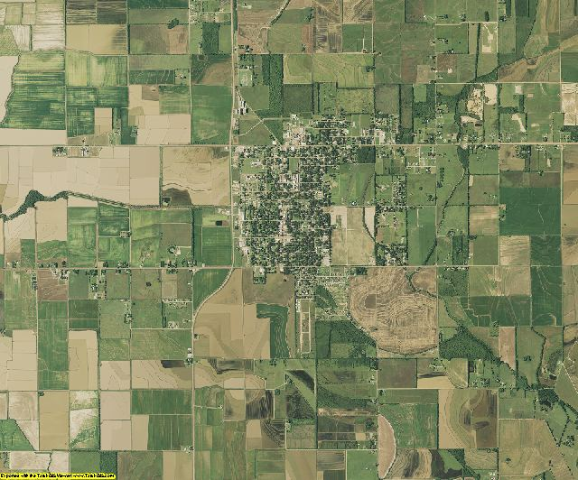 Evangeline County, Louisiana aerial photography