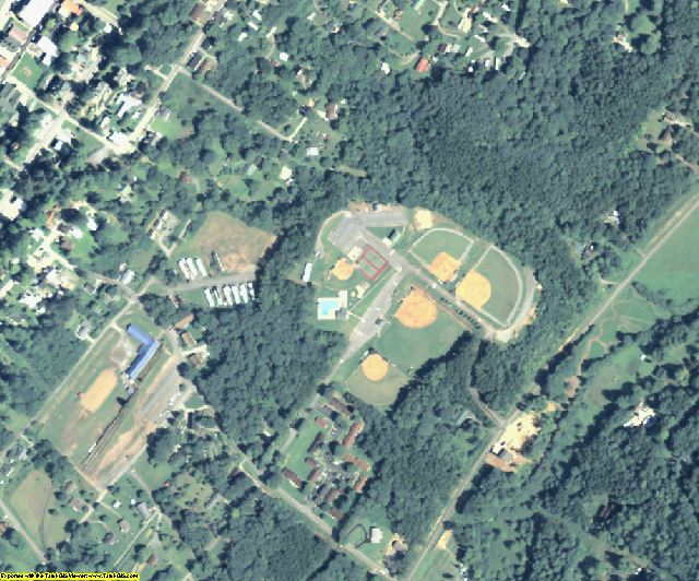 Fannin County, GA aerial photography detail