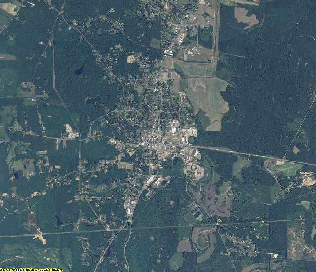 Fayette County, Alabama aerial photography