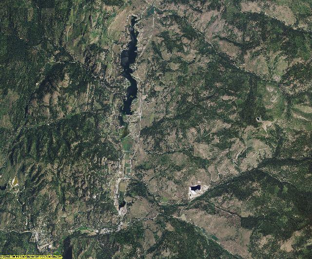 Ferry County, Washington aerial photography