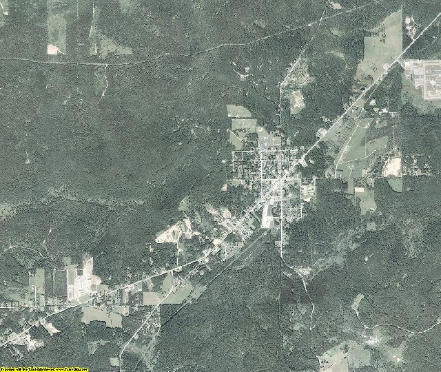 Forest County, Pennsylvania aerial photography