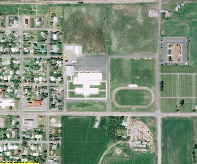 Fremont County, ID aerial photography detail