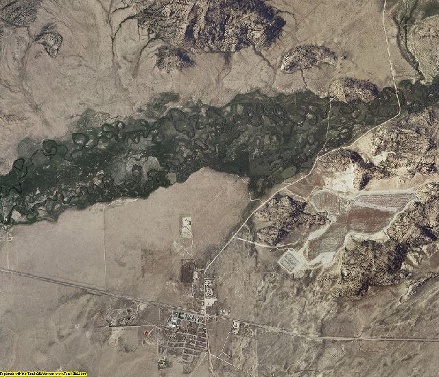 Fremont County, Wyoming aerial photography