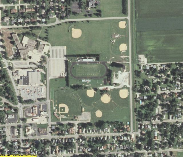 Fulton County, IL aerial photography detail