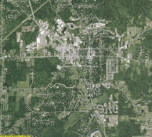 Geauga County, Ohio aerial photography