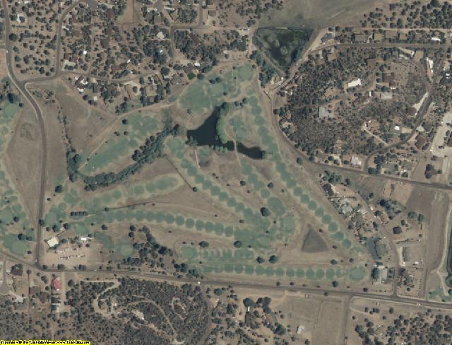 Gila County, AZ aerial photography detail