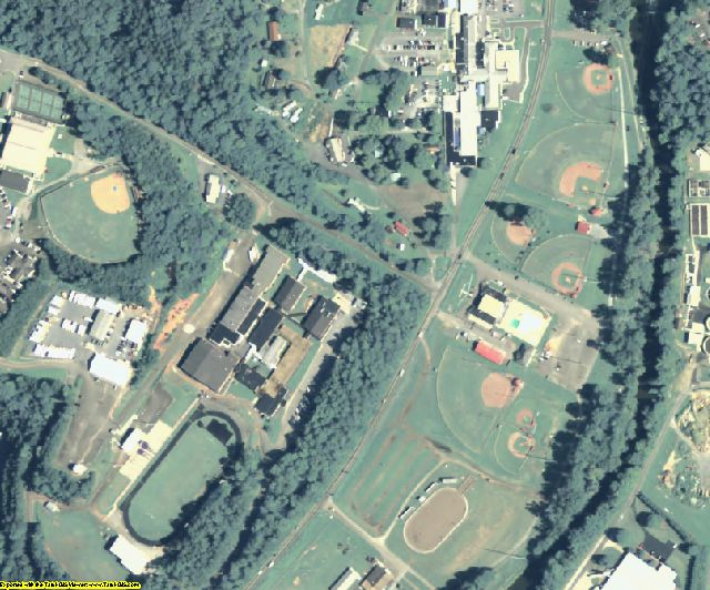 Gilmer County, GA aerial photography detail