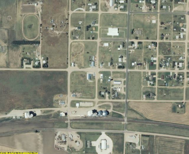 Gove County, KS aerial photography detail