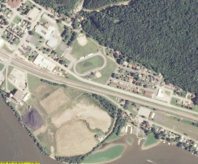 Grant County, WI aerial photography detail