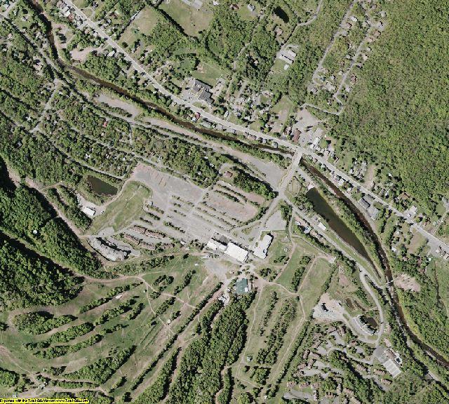 Greene County, NY aerial photography detail
