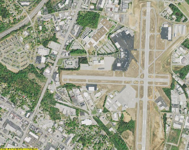 Greenville County, SC aerial photography detail