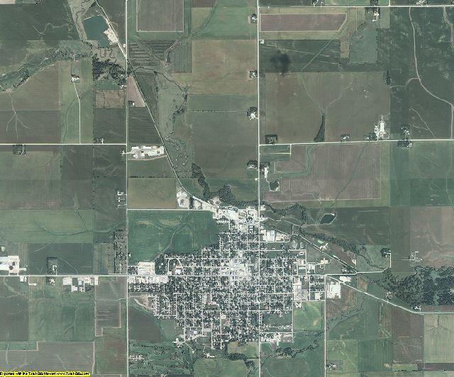 Grundy County, Iowa aerial photography