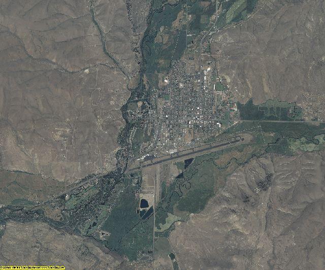 Gunnison County, Colorado aerial photography