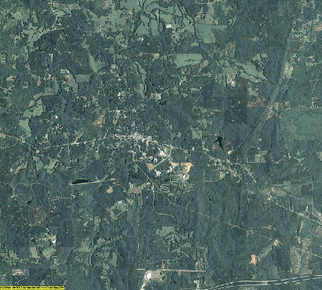 Haralson County, Georgia aerial photography