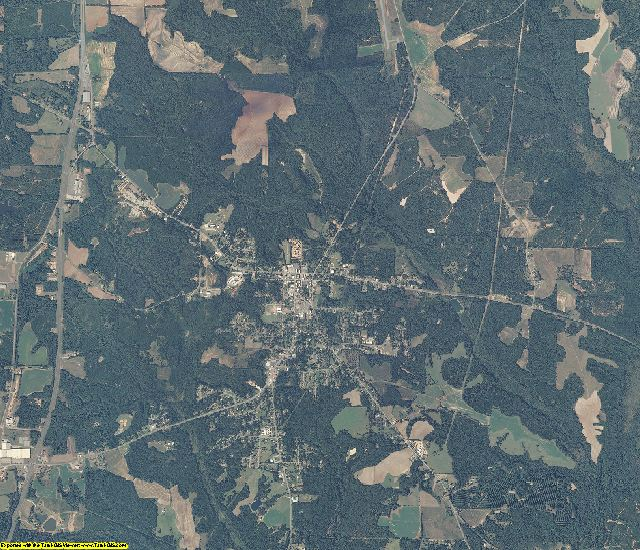 Henry County, Alabama aerial photography