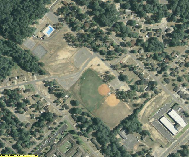 Houston County, GA aerial photography detail
