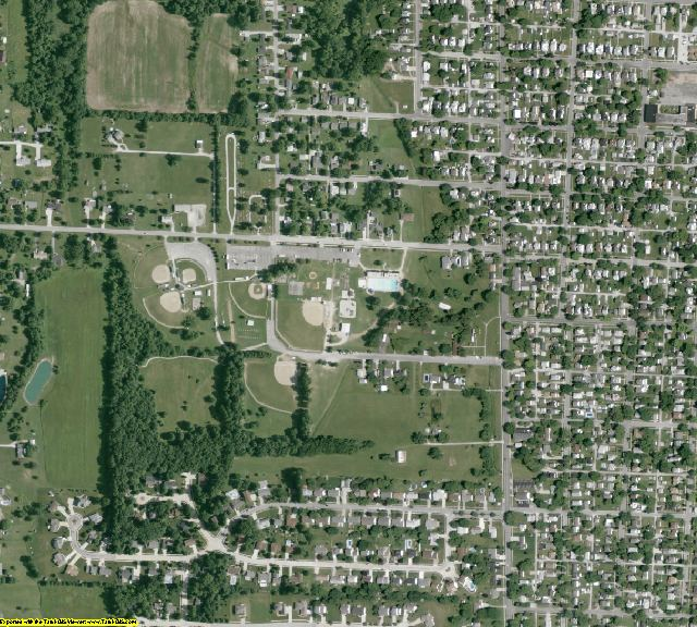 Huron County, OH aerial photography detail
