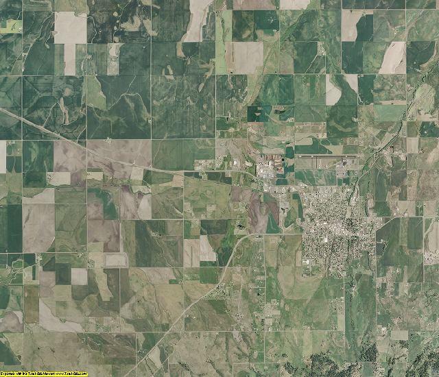 Idaho County, Idaho aerial photography