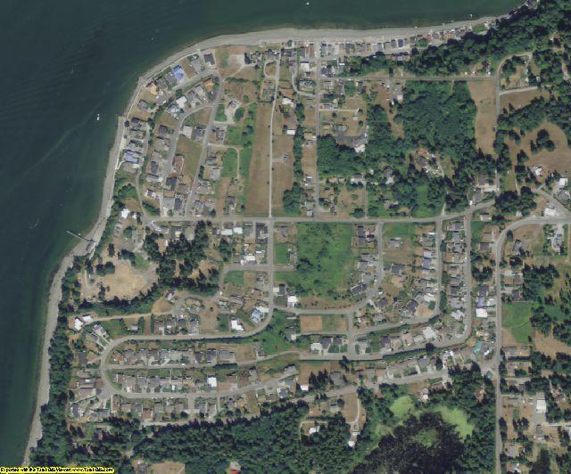 Island County, WA aerial photography detail