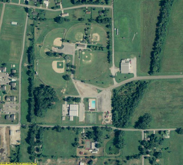 Jackson County, AR aerial photography detail