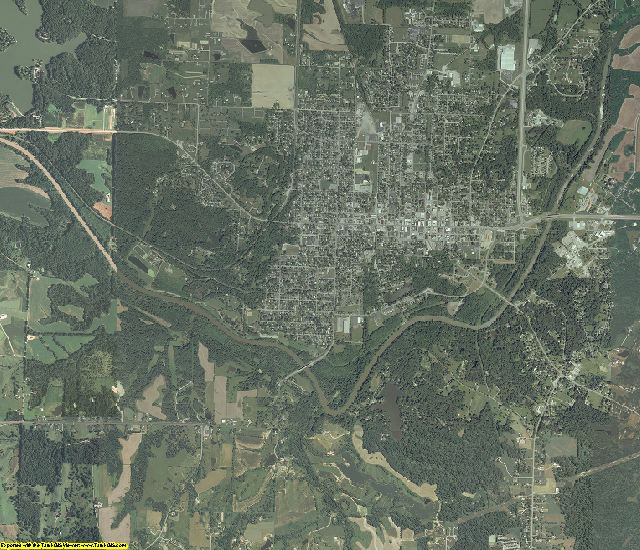 Jackson County, Illinois aerial photography