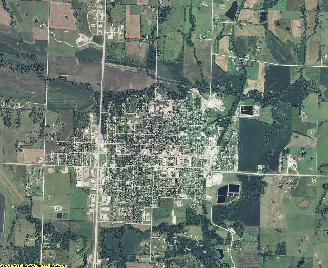 Jackson County, Kansas aerial photography