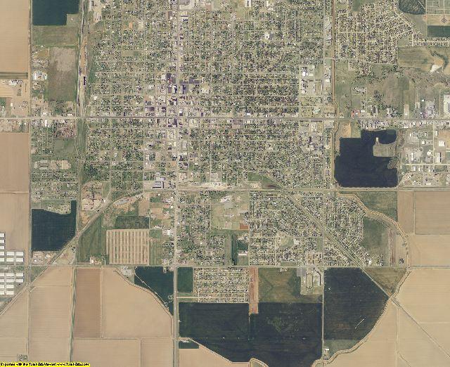 Jackson County, Oklahoma aerial photography