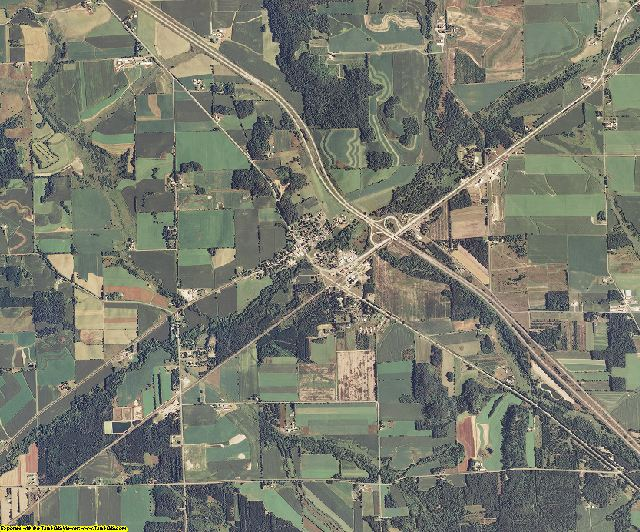 Jackson County, Wisconsin aerial photography