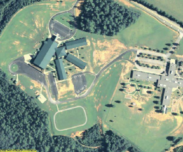 Jasper County, GA aerial photography detail