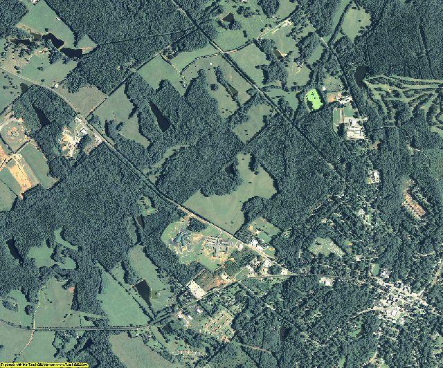 Jasper County, Georgia aerial photography