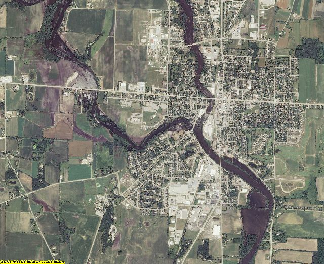Jefferson County, Wisconsin aerial photography