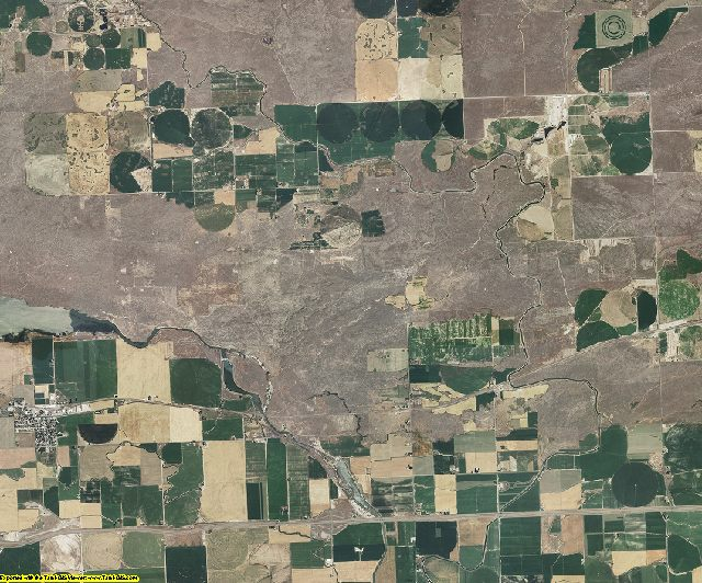 Jerome County, Idaho aerial photography