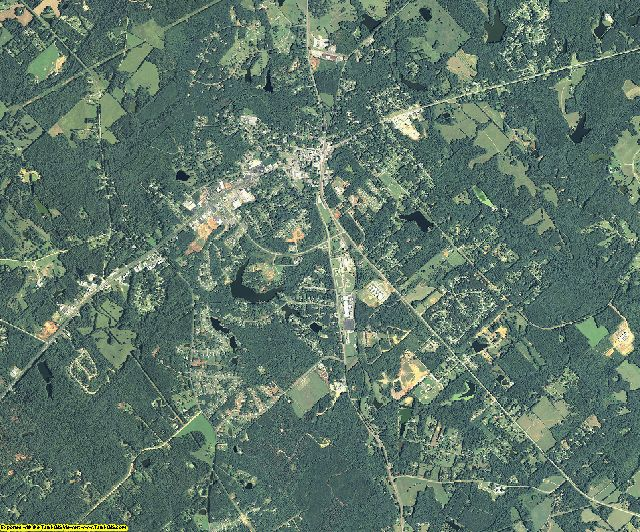Jones County, Georgia aerial photography