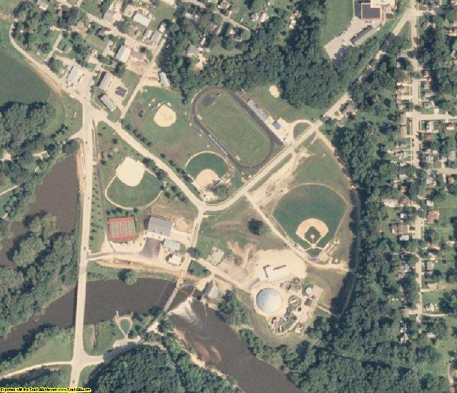 Jones County, IA aerial photography detail