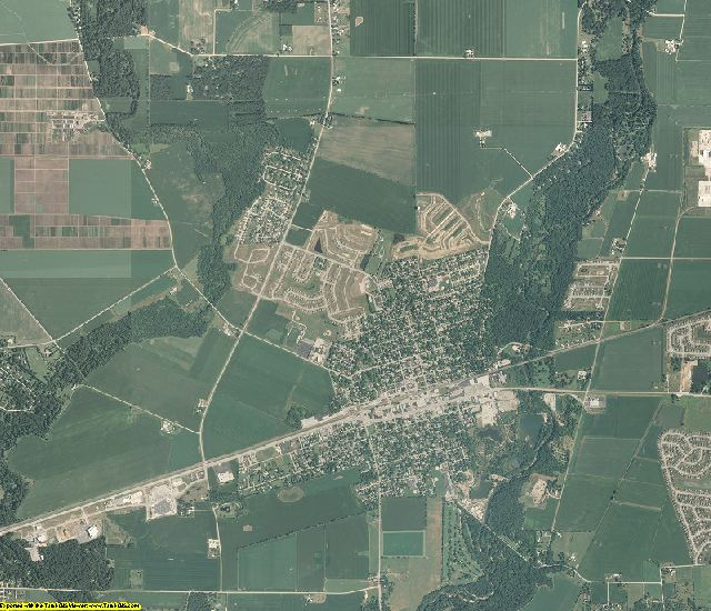 Kendall County, Illinois aerial photography