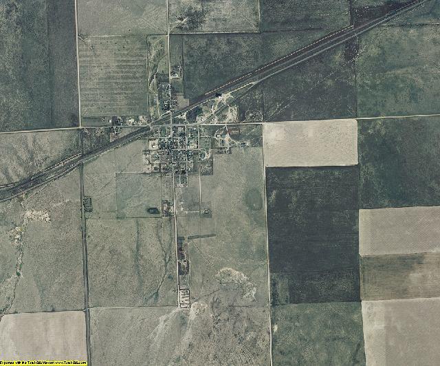 Kiowa County, Colorado aerial photography