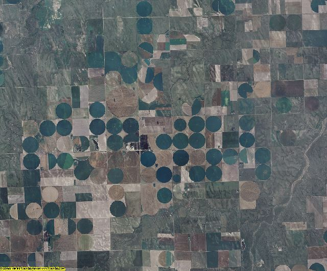 Kit Carson County, Colorado aerial photography